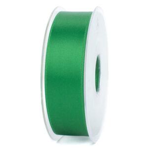 Groen satijnlint Inpakspot